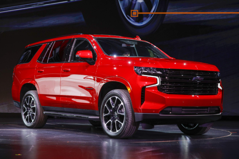 2021 Chevrolet Tahoe RST Colors