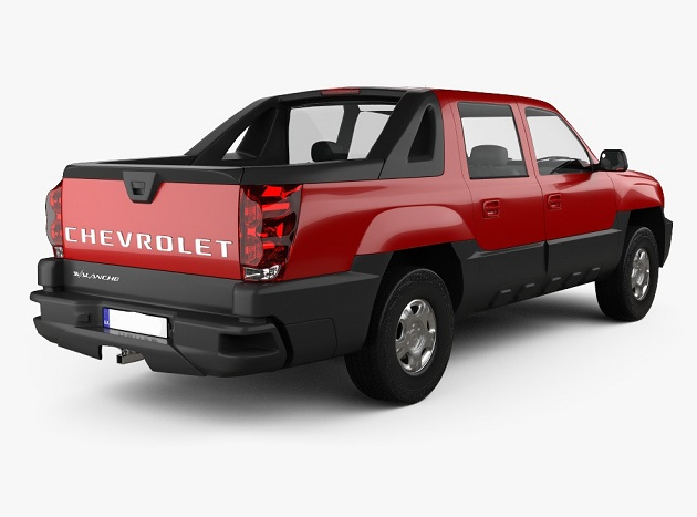 2021 Chevy Avalanche Redesign