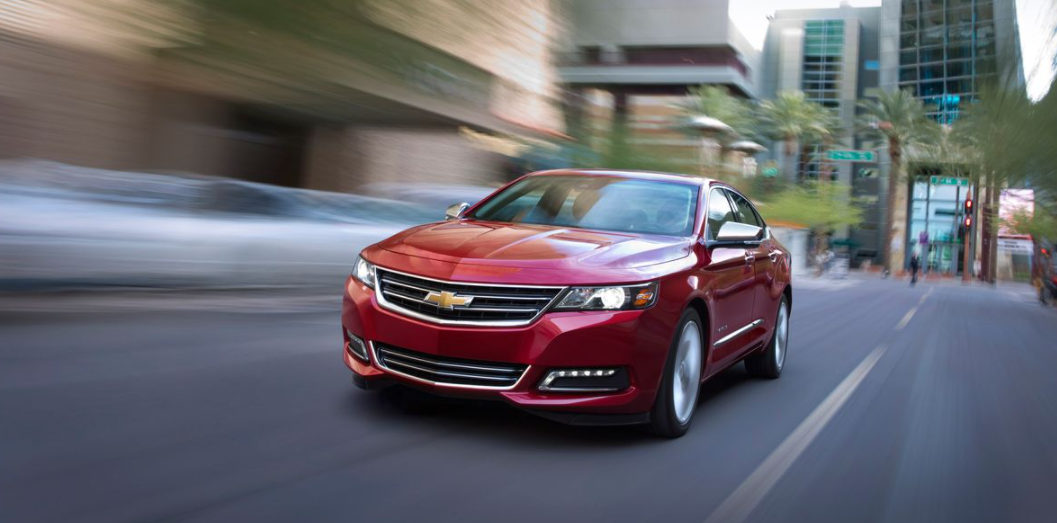 2021 Chevy Impala Changes