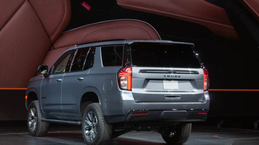 2021 Chevy Tahoe LS Redesign
