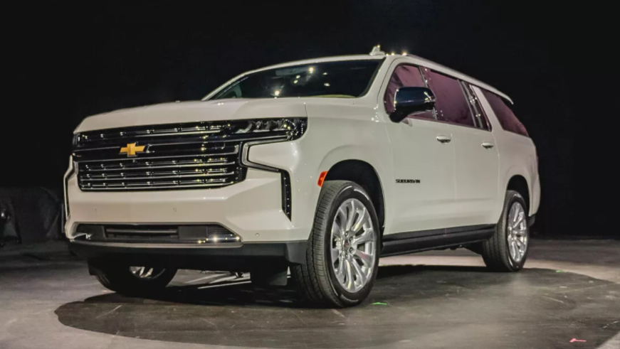 2022 Chevy Suburban SS Colors