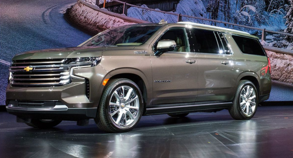 2022 Chevy Suburban SS Redesign