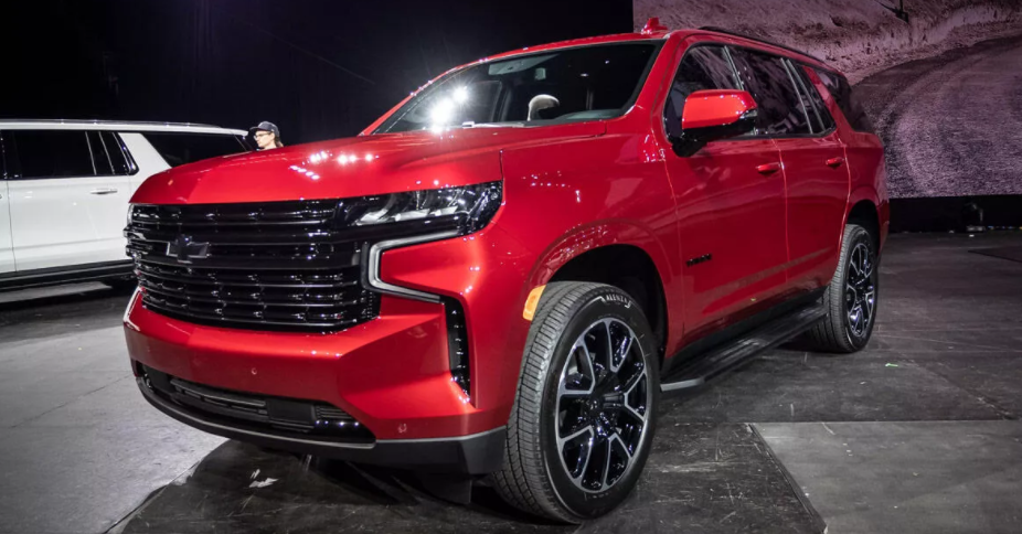 2022 Chevy Tahoe Z71 Colors