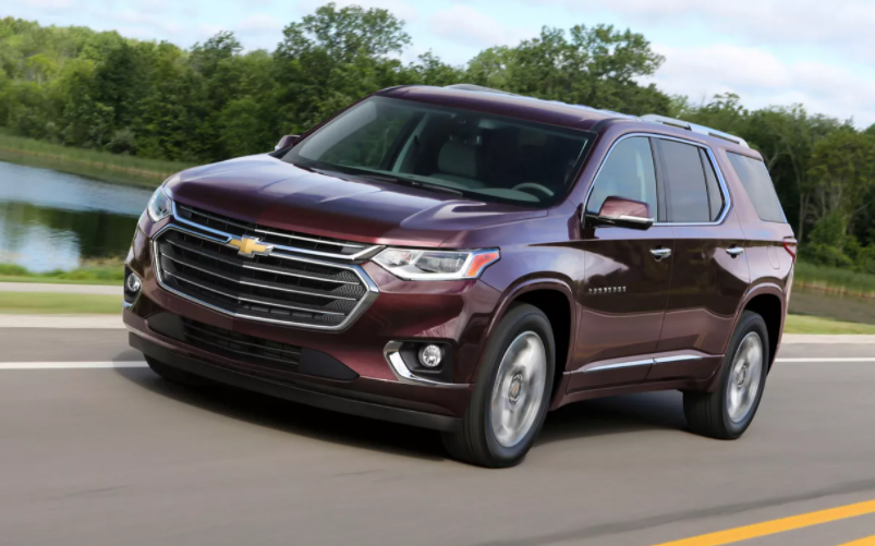 2022 Chevy Traverse High Country Colors