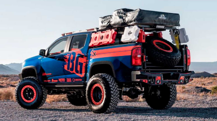 Chevy Colorado Diesel Overlander With Roof Tent Heads Changes