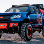 Chevy Colorado Diesel Overlander With Roof Tent Heads Redesign
