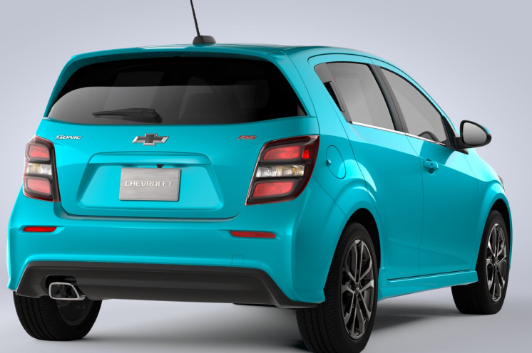 2021 Chevrolet Sonic RS Changes