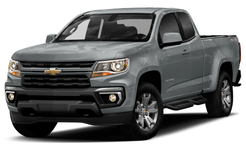 2021 Chevy Colorado Diesel Extended Cab Redesign