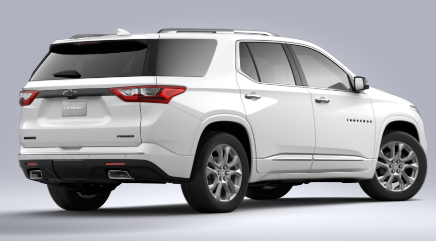 2021 Chevy Traverse All-Wheel Drive System Redesign