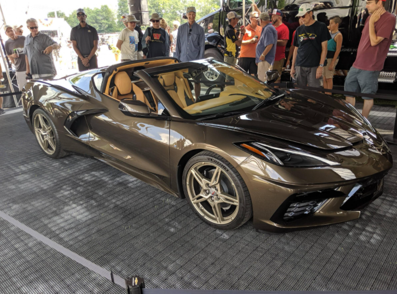 2023 Chevy Corvette C8 Hybrid Spotted-Indeed Rumors