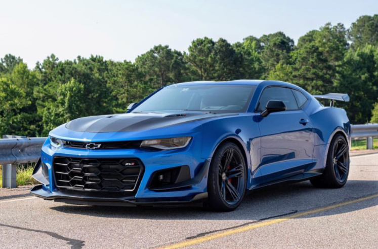 2021 Chevy Camaro Manual Transmission For Sale