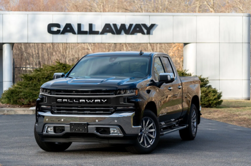 CHEVROLET SILVERADO CALLAWAY TEASES SUPERCHARGED T1